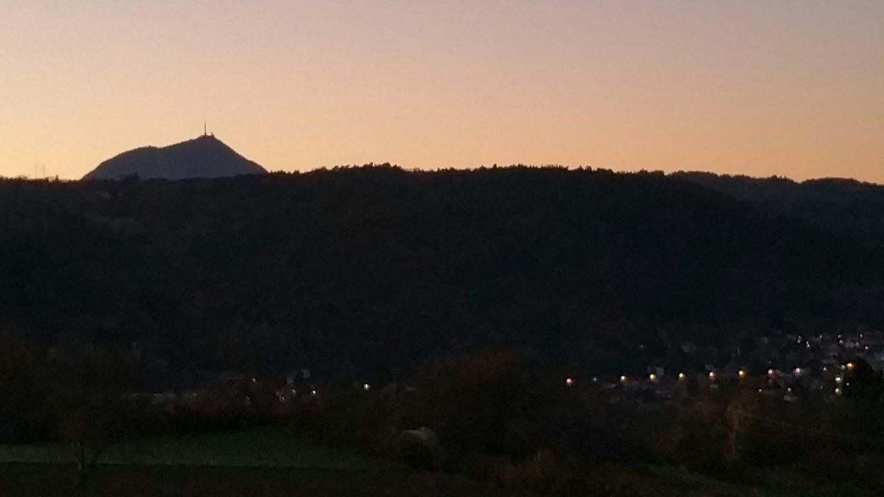 Saint Genès Champanelle Puy De Dôme Puy-de-Dome soir Coucher De Soleil