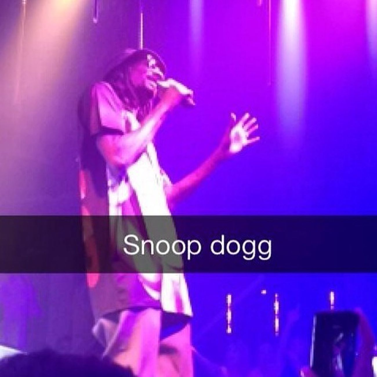 Soirée au Gotha. Party Gotha Snoop Dogg Enjoying Life