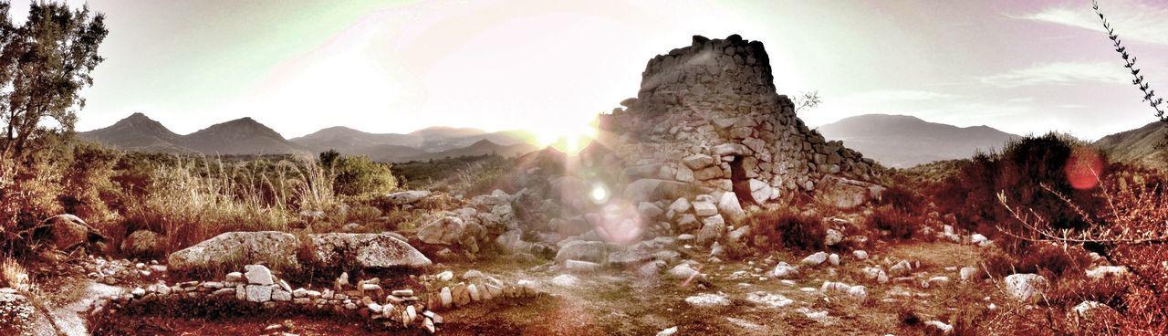 Ogliastra Tadaa Community EloediLo Sardinia Light And Shadow My View Nuraghe Sunset Roots Archaeology
