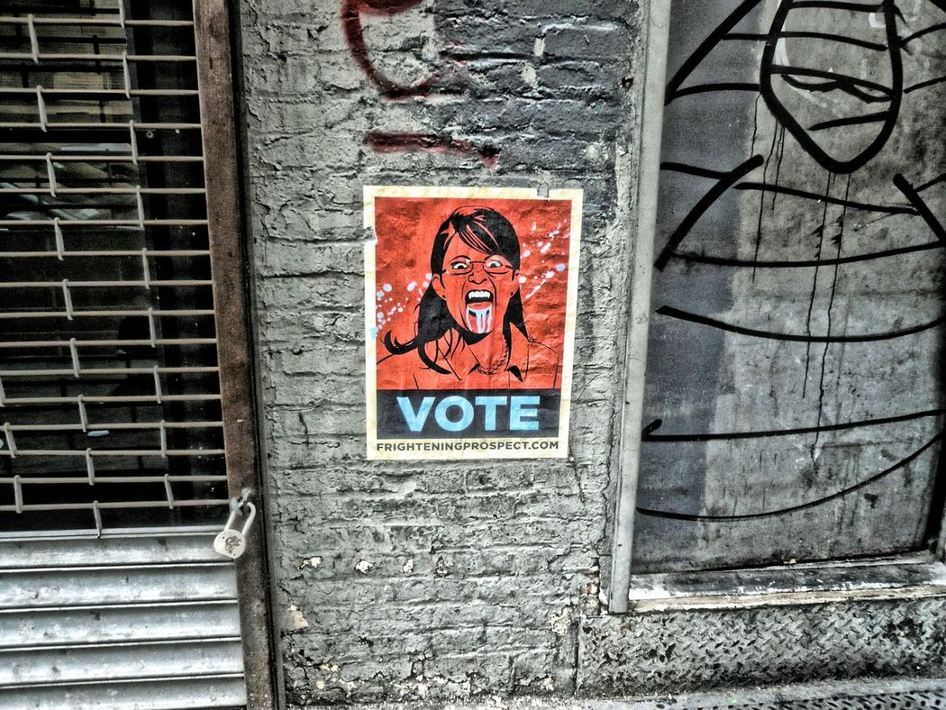 Election again Vote Vote! Votewisely Voter Poster Building Street Photography Streetphotography Portrait Of America Election