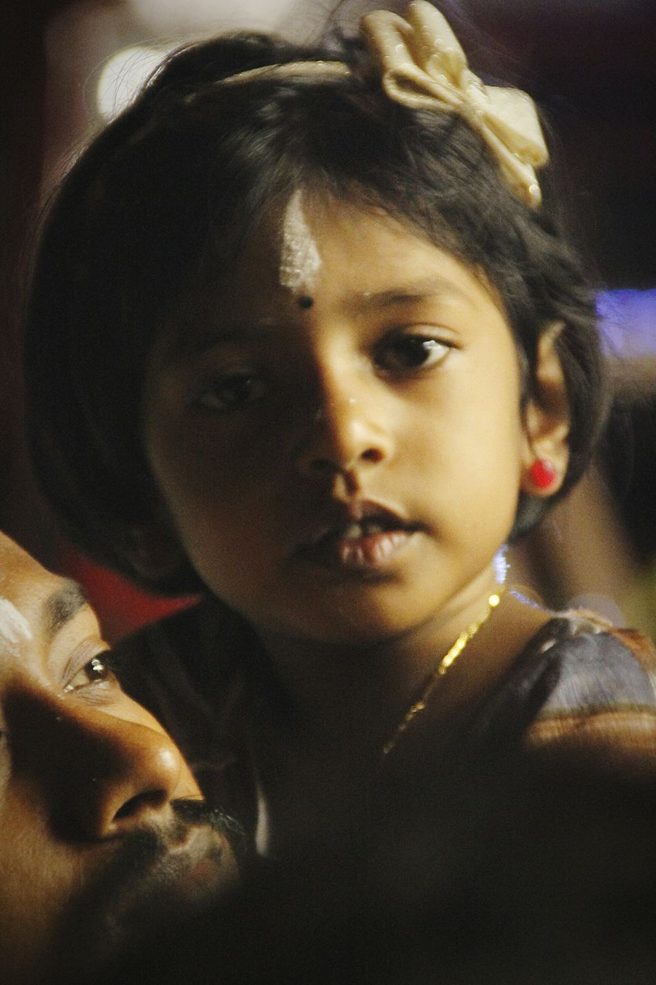 Indoors  Headshot Leisure Activity Close-up Lifestyles Person Looking At Camera Front View Casual Clothing Innocence Young Adult Focus On Foreground Black Hair Toddler  Domestic Life Windy Enjoying Life EyeEm Best Shots Indian Eye4photography  Festival Season Thaipusam2016