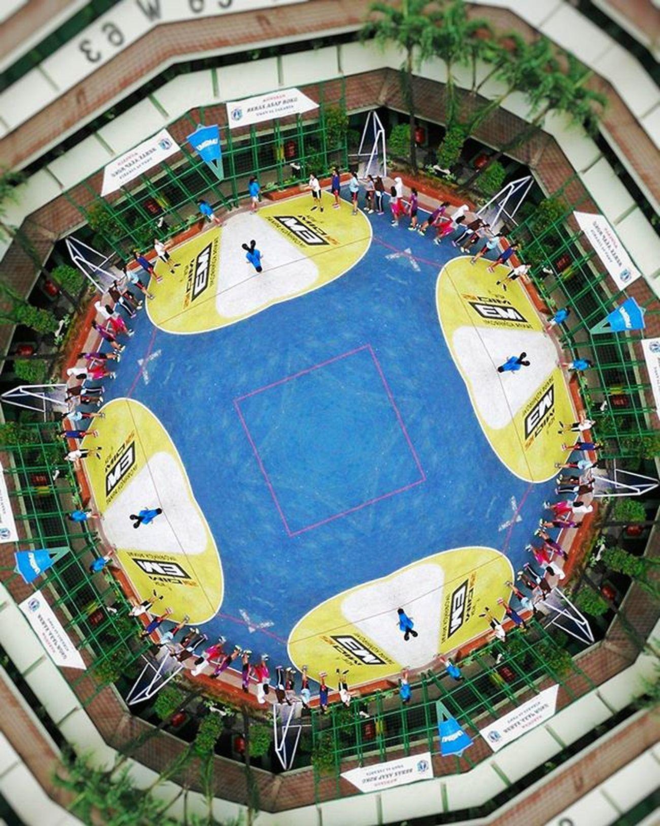 Kaleidoskop 5 : Namtiga Sman63jakarta Sman63 Lapangan Sekolah School Highschool Kaleidoskop Kaleidoscope