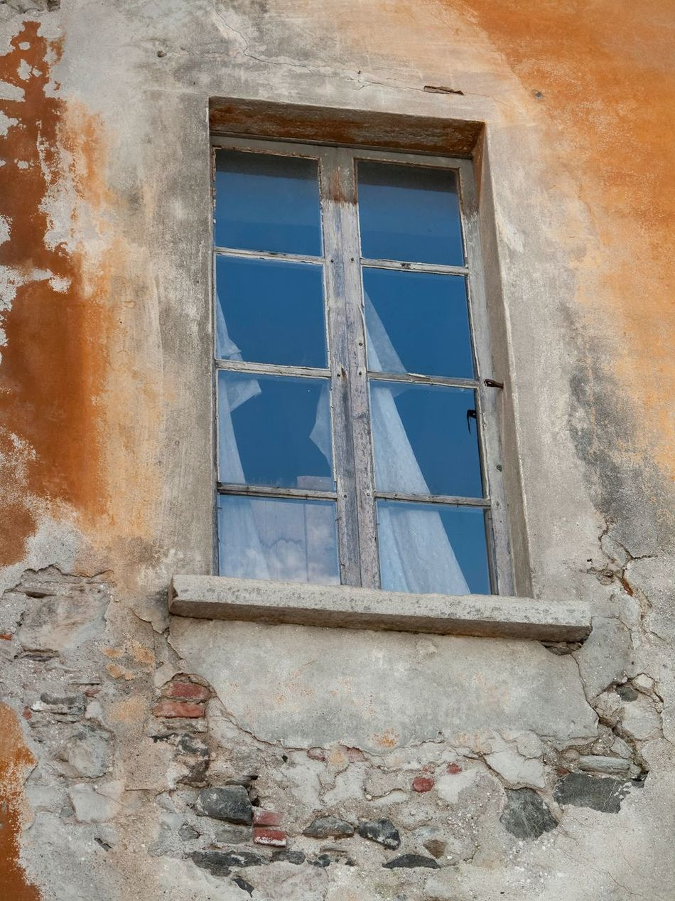 Abandoned Architecture Bad Condition Building Exterior Built Structure Damaged Day Low Angle View No People Outdoors Weathered Window Window Frame