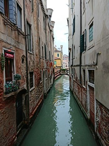 Venice today .... Canal Architecture Building Exterior Outdoors