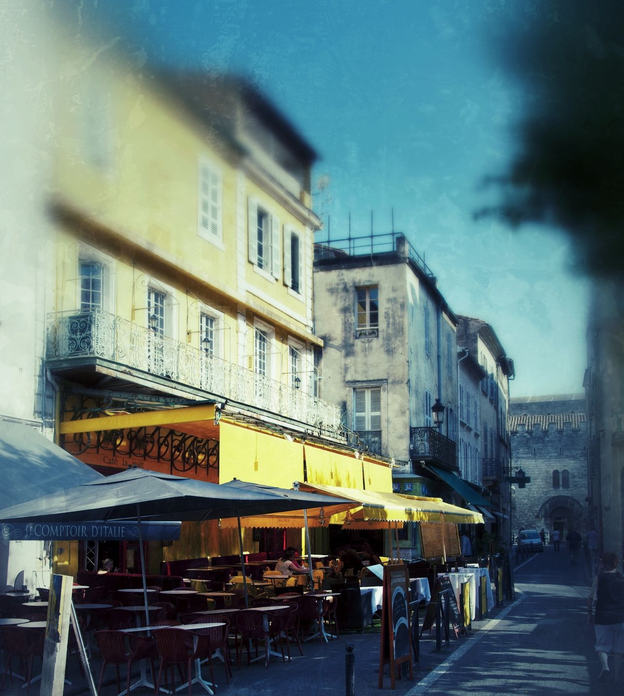 Cafe Terrace at Night in Arles, France Arles Cafe Terrace At Night Famous Place France Landmark Van Gogh Vincent Van Gogh