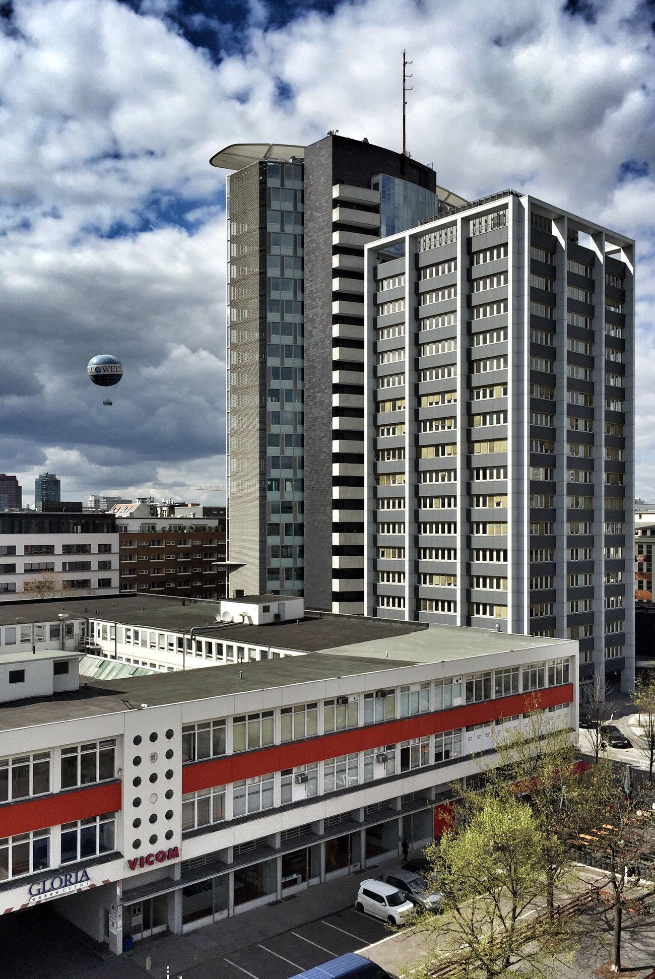 My Fuckin Berlin Kreuzberg Südliche Friedrichstadt GSW Haus Rooftops Skyporn Clouds And Sky Der Himmel über Berlin