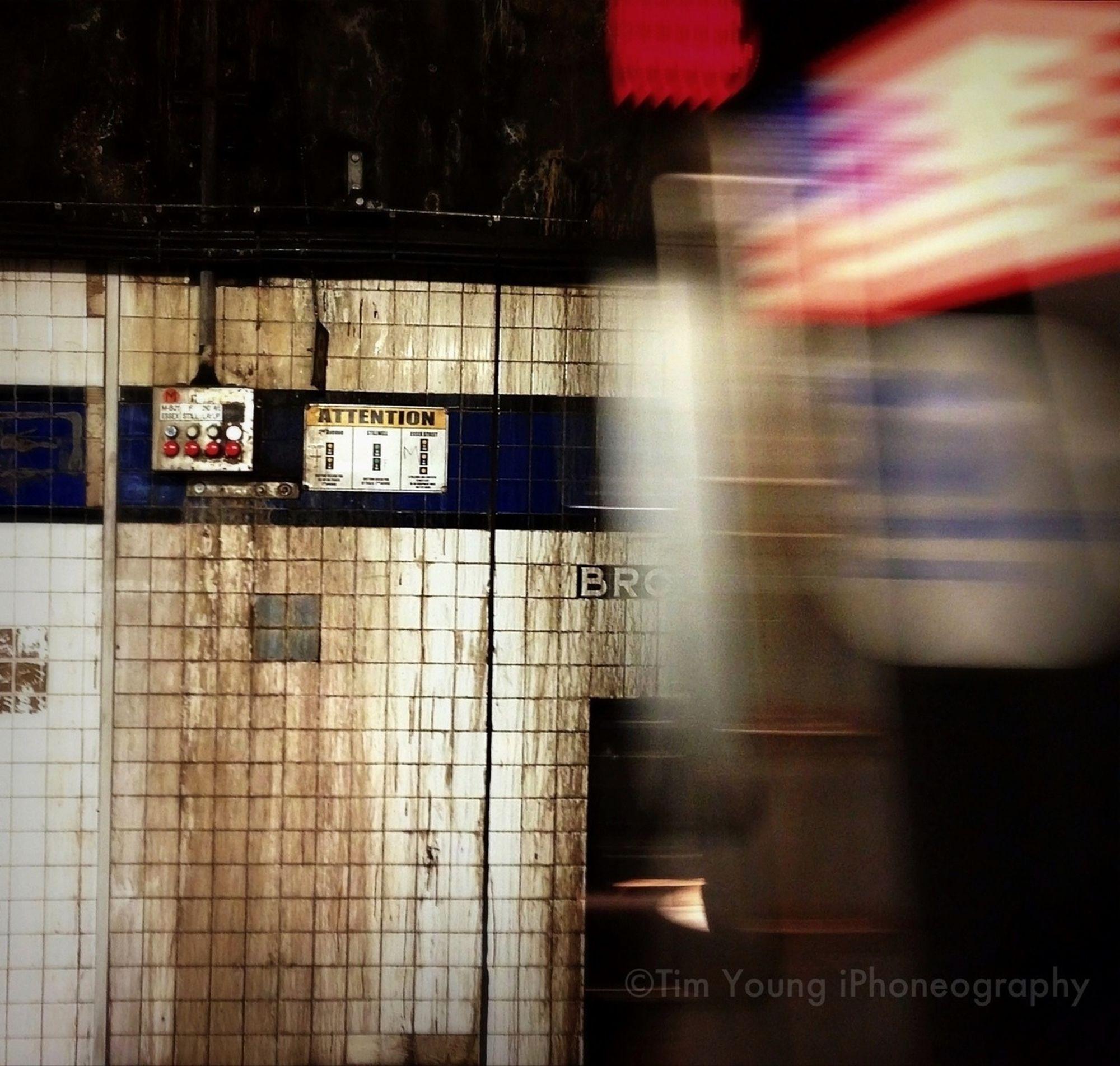 Early Morning E Train