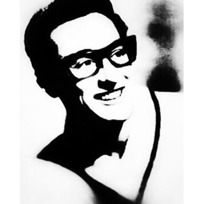 """""""Buddy"""" (7 September, 1936 – 3 February, 1959) ☮ """"...Death is very often referred to as a good career move..."""" Buddyholly Lubbock Texas Rocknroll peggysue maybebaby trueloveways everyday thedaythemusicdied theartofanimage"""