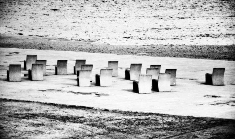 Barcelonetabeach City Street Black & White Black And White Photography Barcelona Black And White Bianco&nero ChairArt