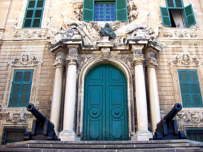 Arch Architectural Column Architecture Art Art And Craft Building Exterior Built Structure Carving - Craft Product Closed Closed Door Creativity Door Entrance Entryway Façade Historic History Human Representation Malta Outdoors Sculpture Statue Stone Material Wall Window