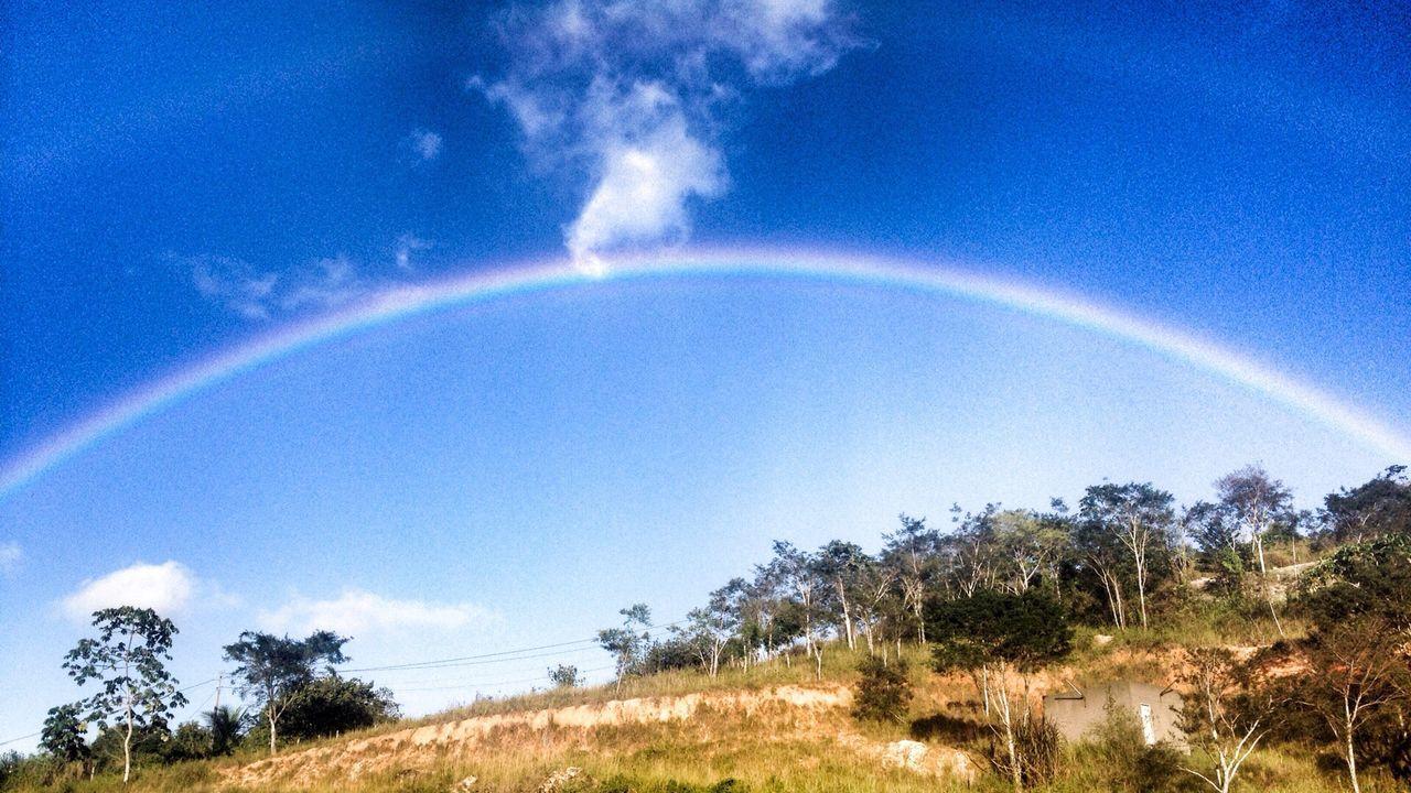 Rainbow Sky And Clouds Rainbow Rainbow Bridge Sky
