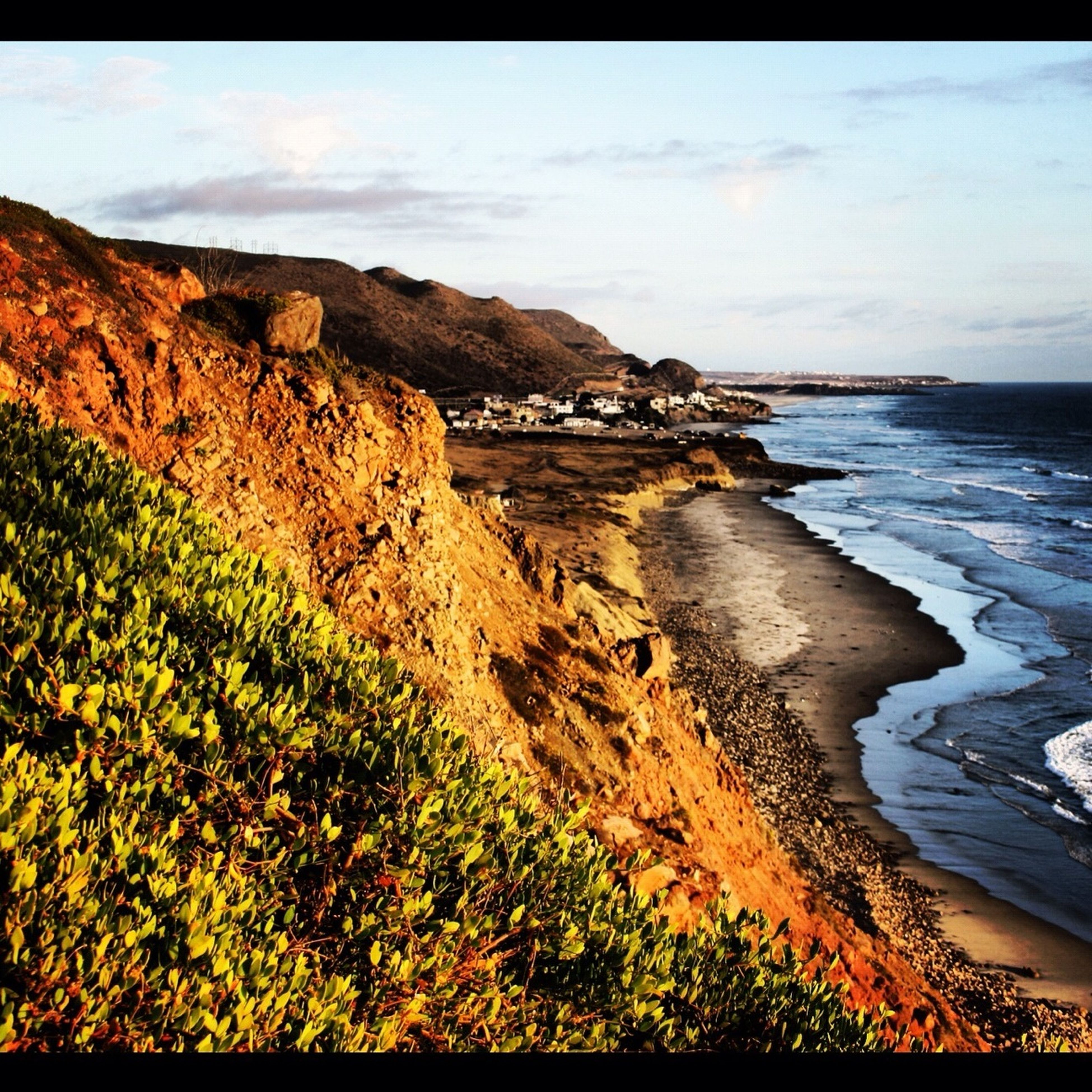 Nice hike at Torrey Pines state park/beach, San Diego, Ca. iPhone 4.
