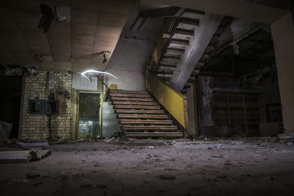 Abandoned Places No People Abondoned Latvia Baldone Sanatorium Indoors
