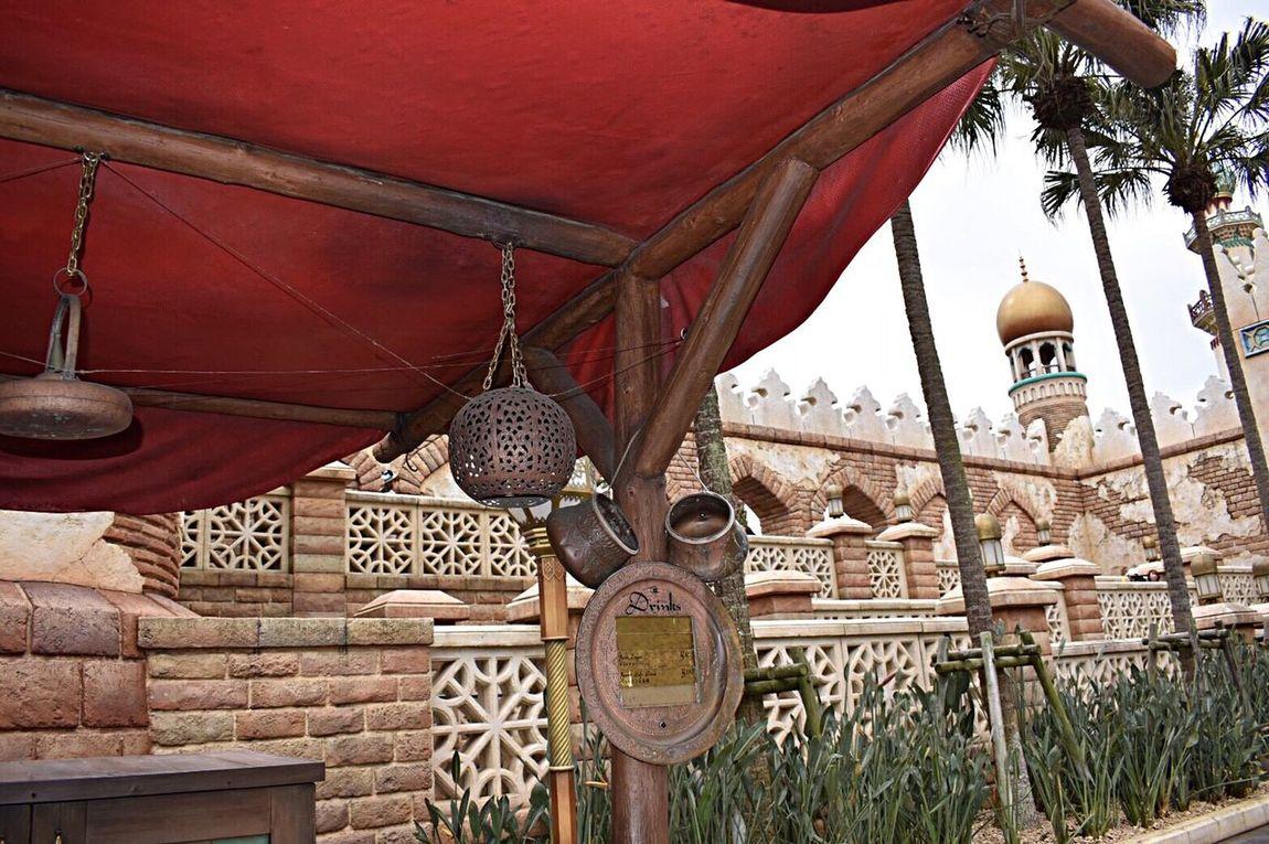 Japanese  Disney DisneySea Arabian Arabiancoast View