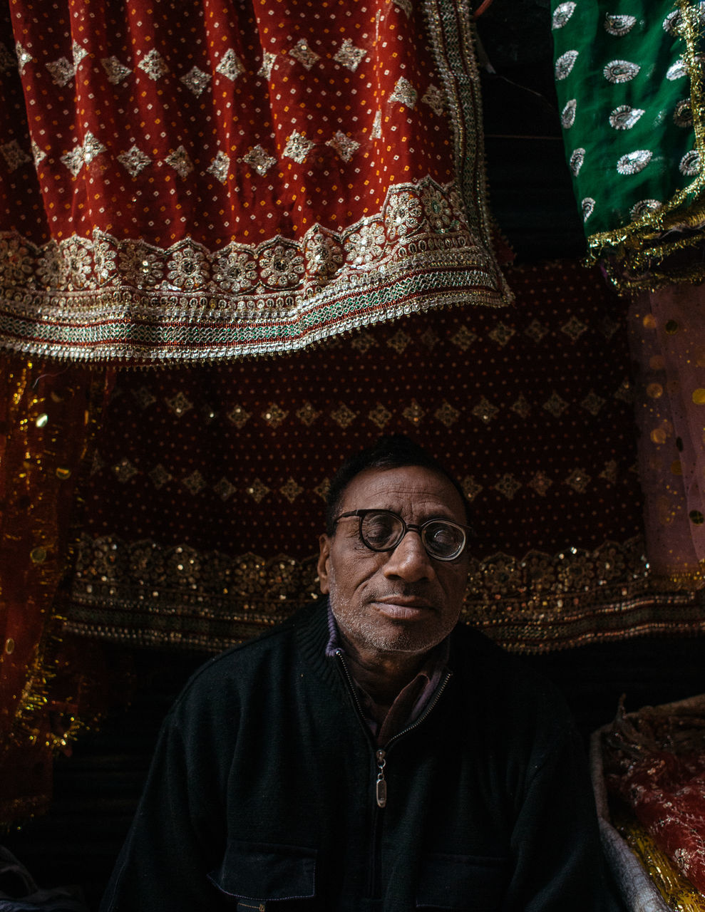 EyeEm Eyes Closed Glasses India Indian Old man Portraits Street portrait colour culture eyeglasses portrait of a man portrait photography real people