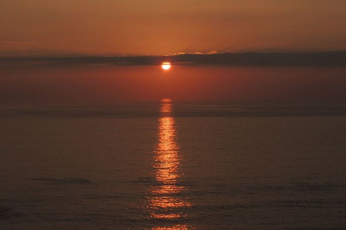 Sunset Sunset Today Sun_collection Sun Reflection Sunset And Sea Sunset_captures Beautiful Sunset♥♥Good Evening EyeEm Sunset Lovers Sunset And Clouds  Orange Sunset Enjoying The Sunset EyeEm Nature Lover My Favorites Sunsets Happy Easter! In My City Reñaca Beach , Chile
