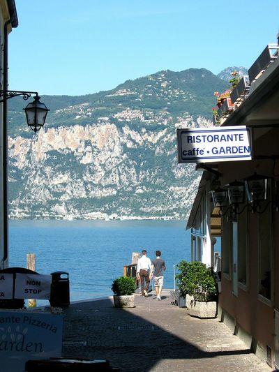 Italy Malcesine Sea Lake View Lake Garda Lagodigarda