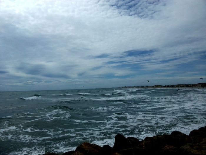 Feeling The Sea And The Sky, In Monpellier, France