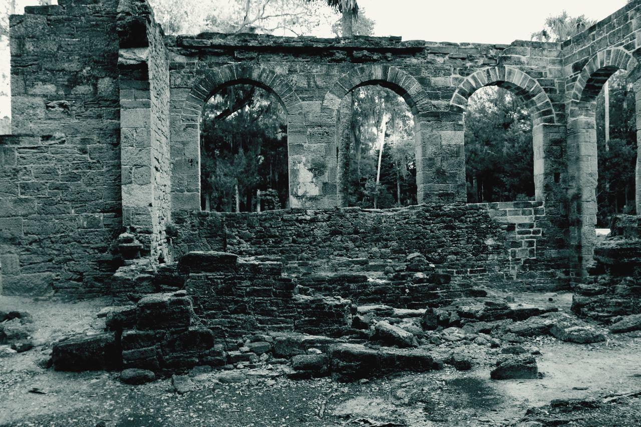 Fine Art Photography Old Sugar Mill Ruins Florida History