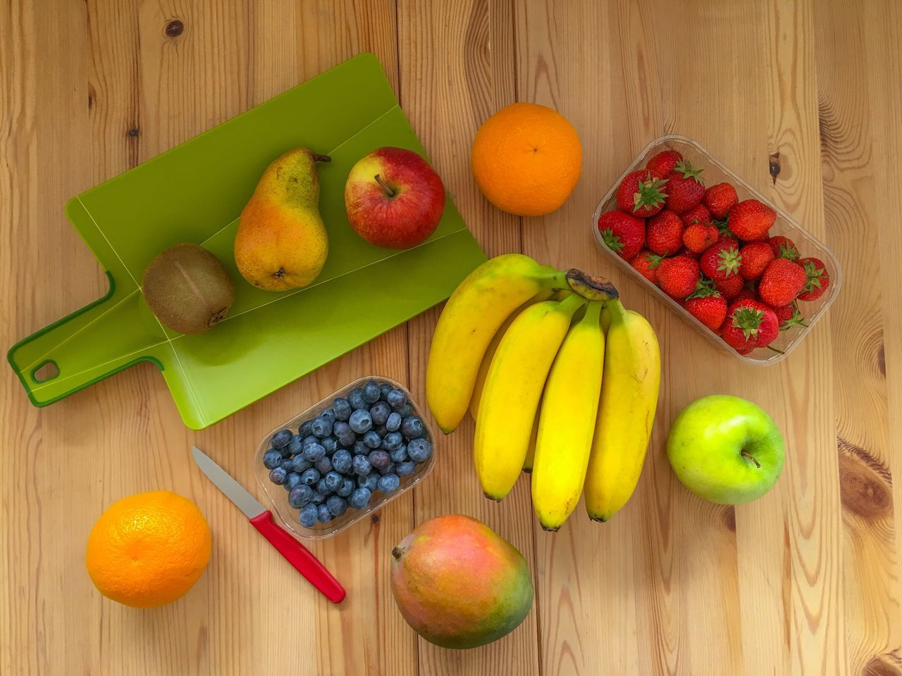 Fruity day 😋😋😋 Fruit Banana Healthy Eating Freshness Food Apple - Fruit Food And Drink Variation Choice Table High Angle View Pear Raspberry Grape Peach Basket Directly Above Indoors  No People Healthy Lifestyle Eyeem Market