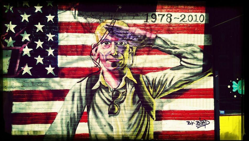 patriotism Street Art