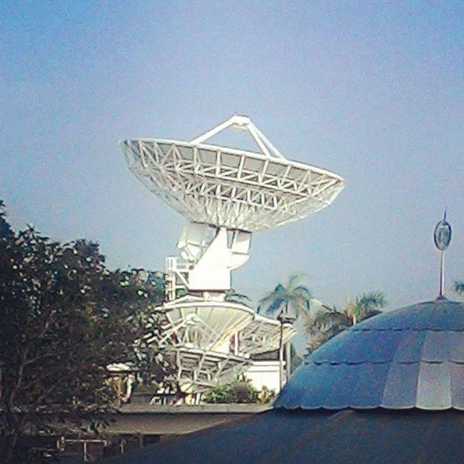 Morning glory Jatiluhur Earthstation