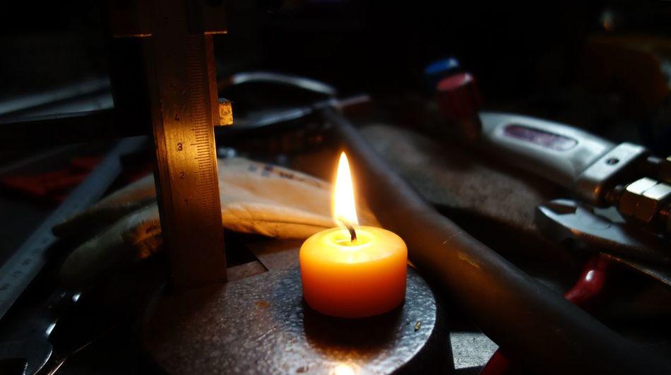 Burning Candle Fire Flame Herz Postkarte Zu Weihnachten Weihnachten