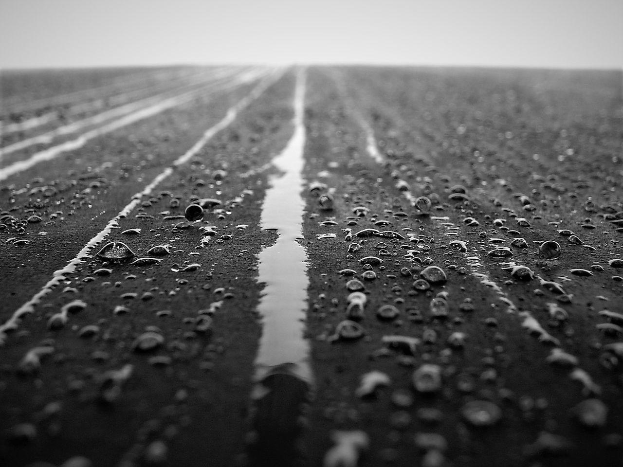 Black And White Capture Berlin Day Drops Drops Of Rain Holocaust Mahnmal Holocaust Memorial No People Outdoors Rain Sky Water