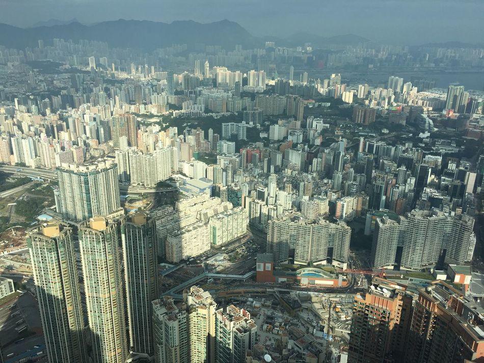 Hongkong Photos Architecture City Hong Kong Style Sky100 Cityview