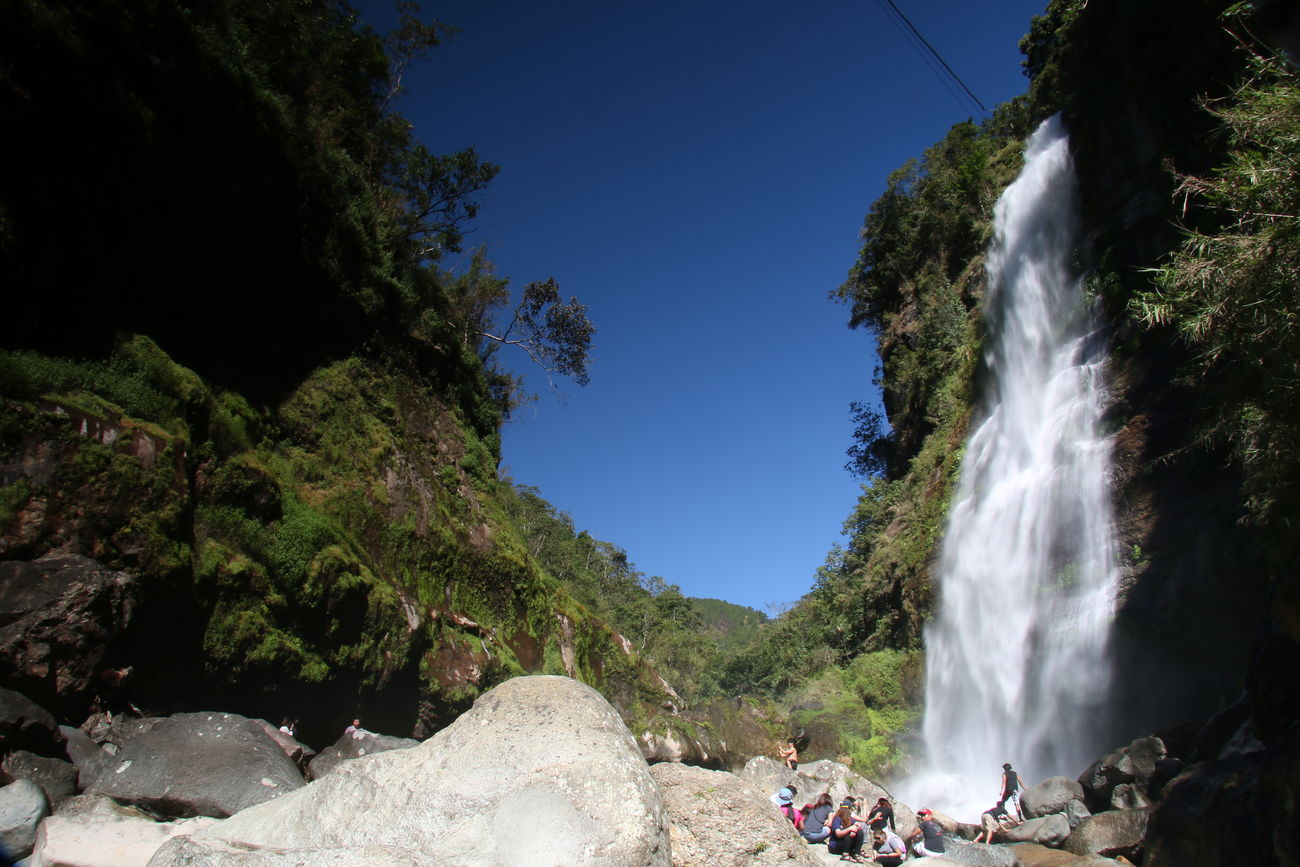 Blue Sky Body Of Water Day Falls Nature Outdoors Sagada, Philippines Stone