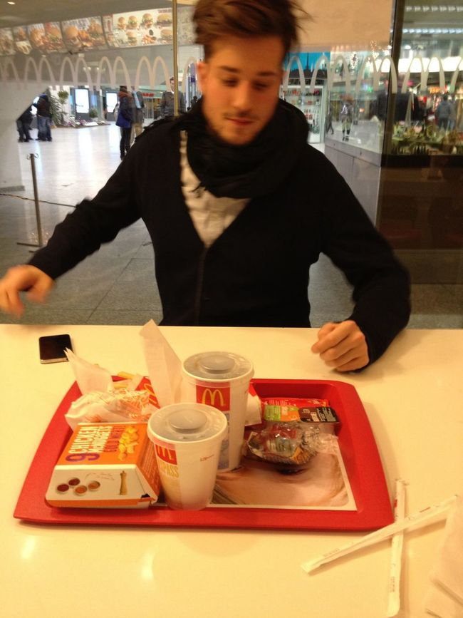 Dinner at McDonald's | McCafé Dinner