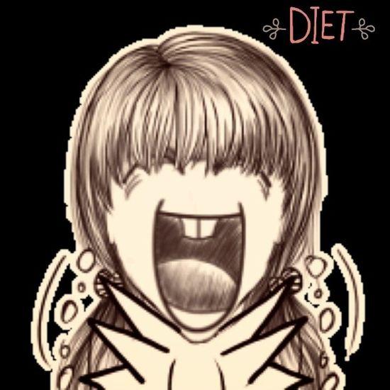 Phải giảm cân từ hôm nay >0< Diet