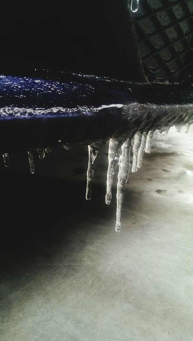 Ice Age Dark Low Angle View Winter Cold Weather Gray Icy Ice Frozen Icicle Cold Cold Morning Freeze Freezing