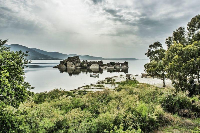 Kapıkırı. Bafa - Muğla / Turkey Turkey Lake Nature Reflection