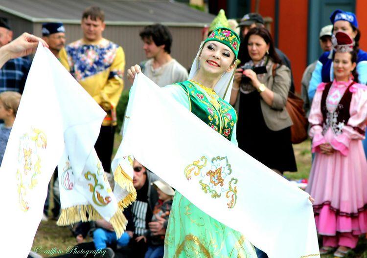 Sabantui Fest Tatar Tatarstan Festival Costume
