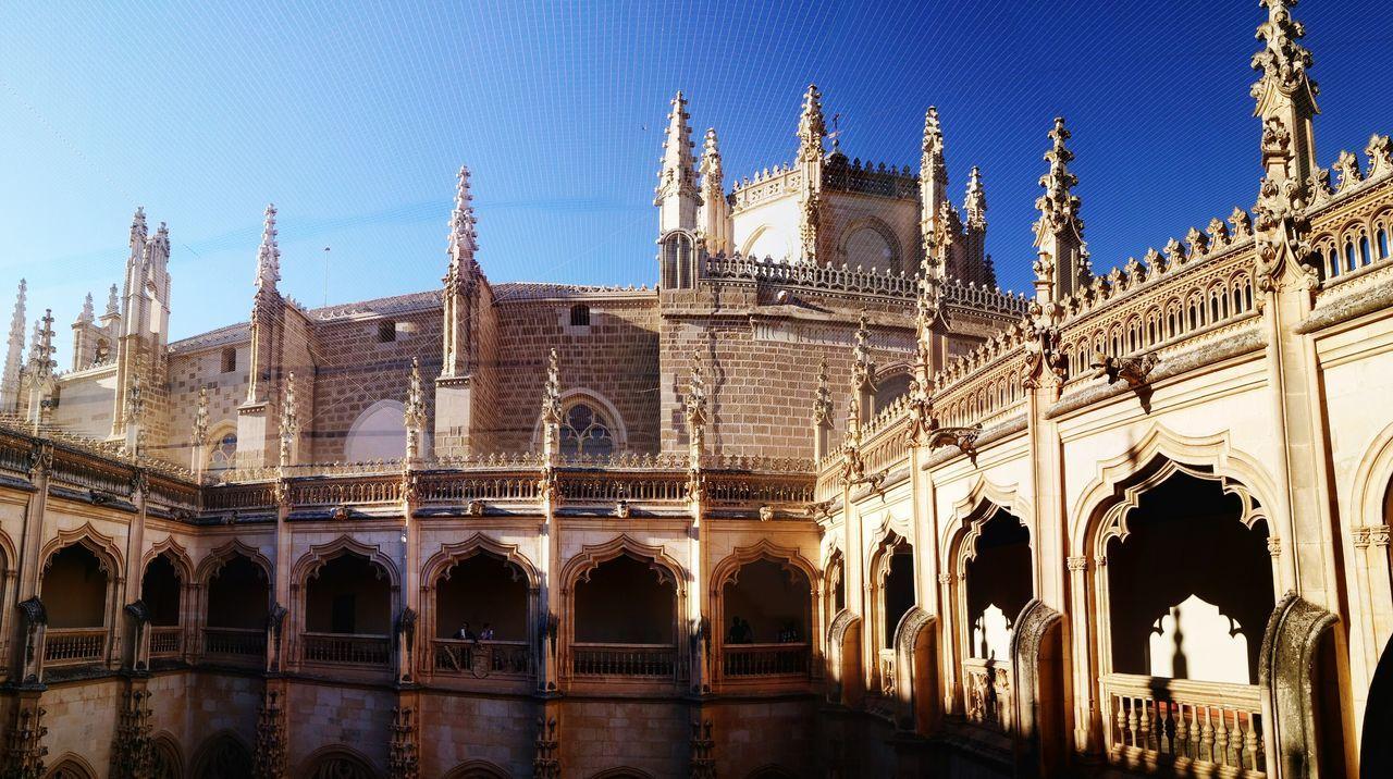 Toledo Spain Monastery Panorama