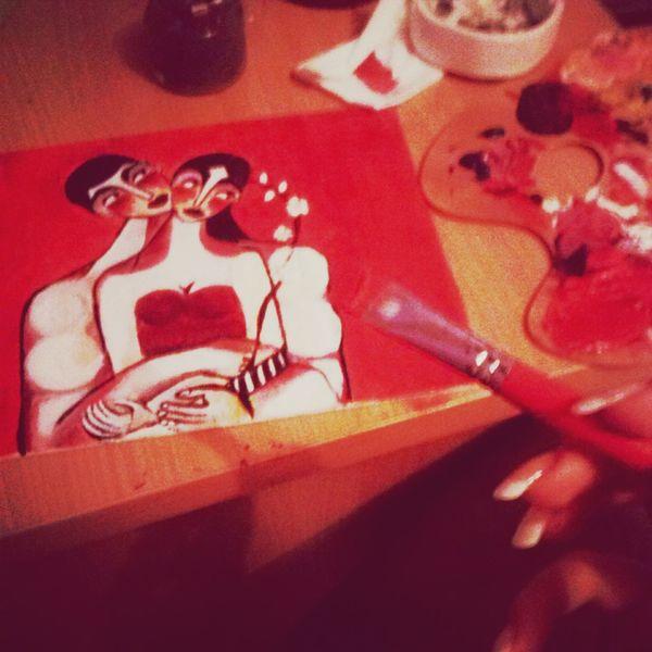 Mine Painting Acrylic