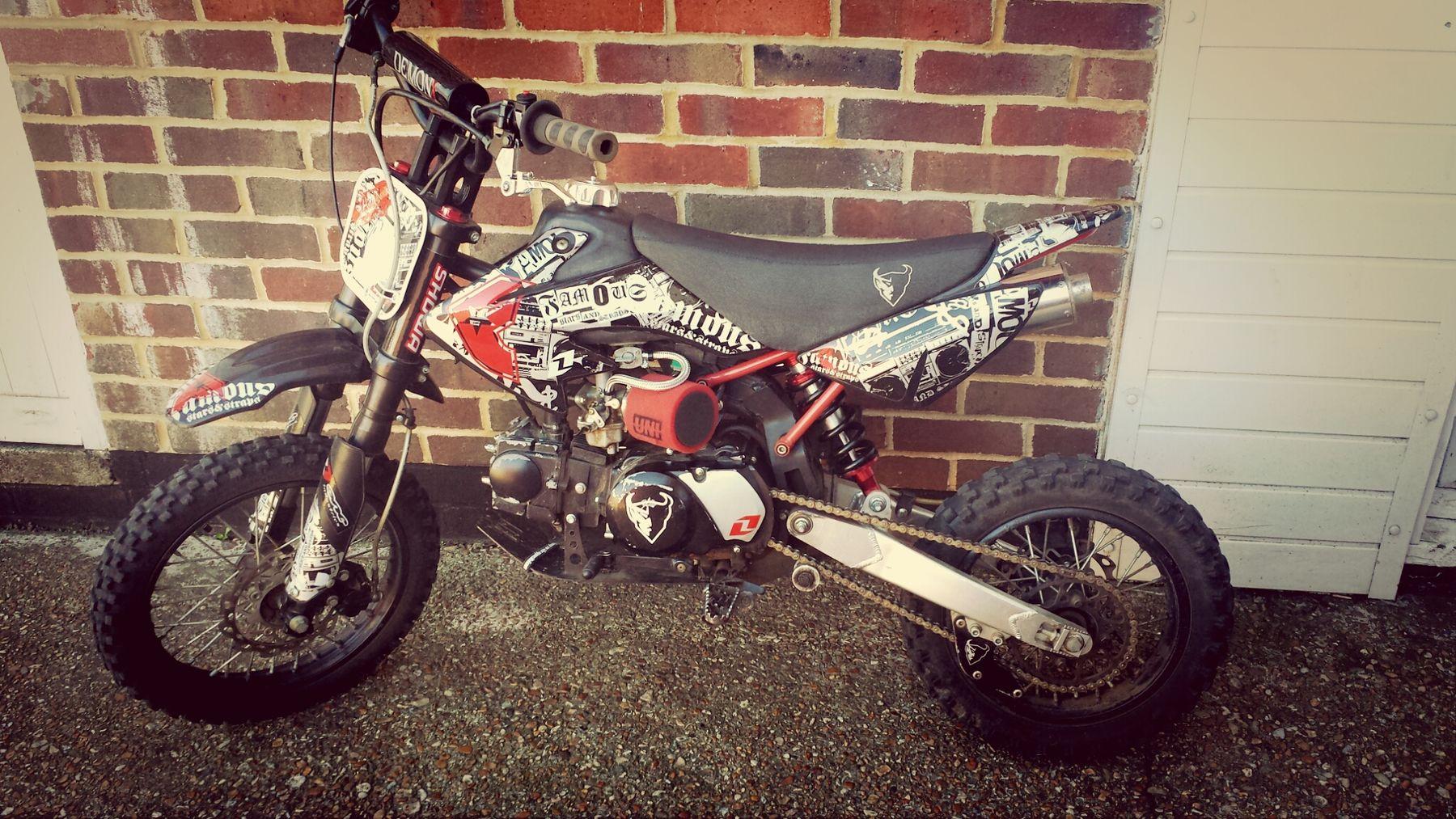 Pitbike 110cc Demon X pitbike ready