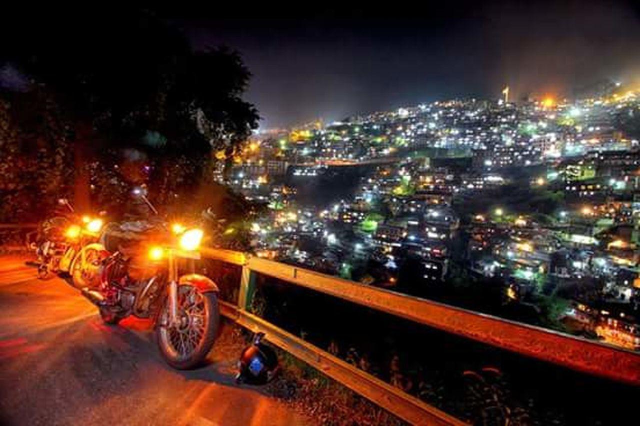 India Himachalpradesh Shimla Hillstation Royalenfield Biketour