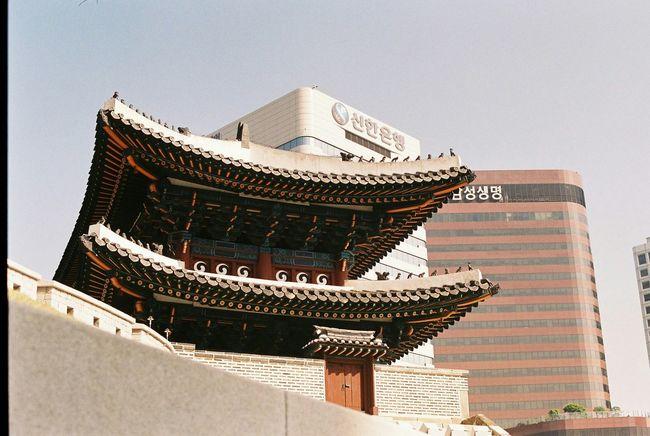 35mm Film Film Photography The Street Photographer - 2015 EyeEm Awards Korean Traditional Architecture 숭례문 EyeEm Korea