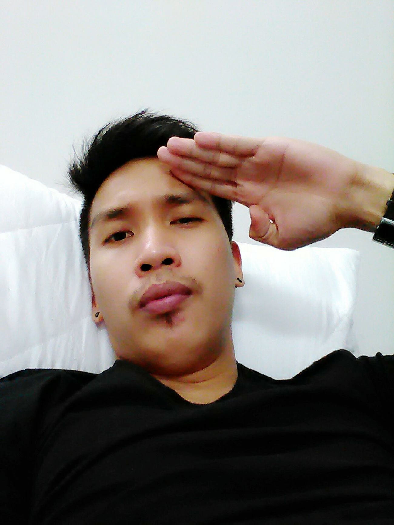 Yesboss Baby Salute Inlove♥ God Is Great. Selfie ✌ Love ♥