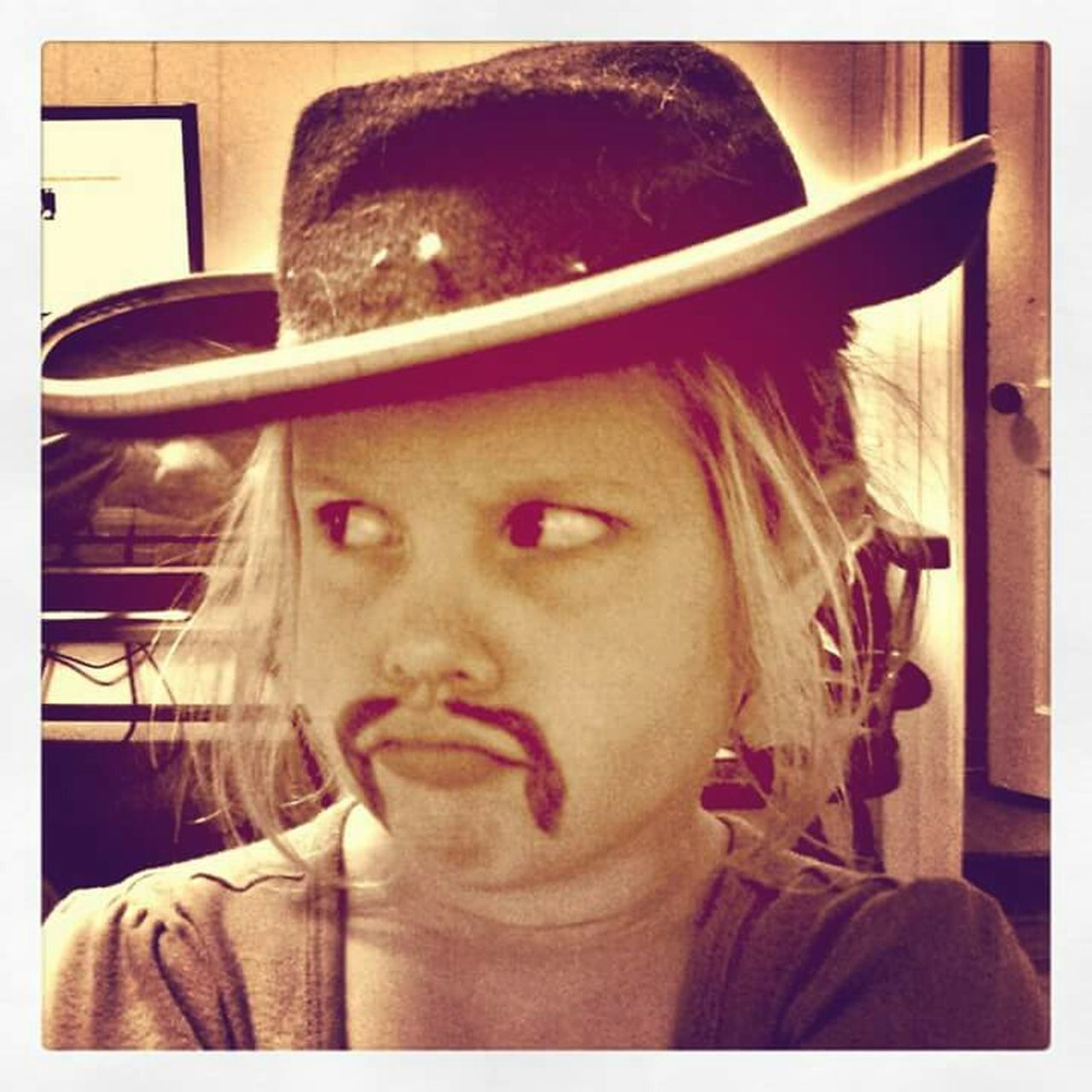Sheriff Coolhat  Mustache