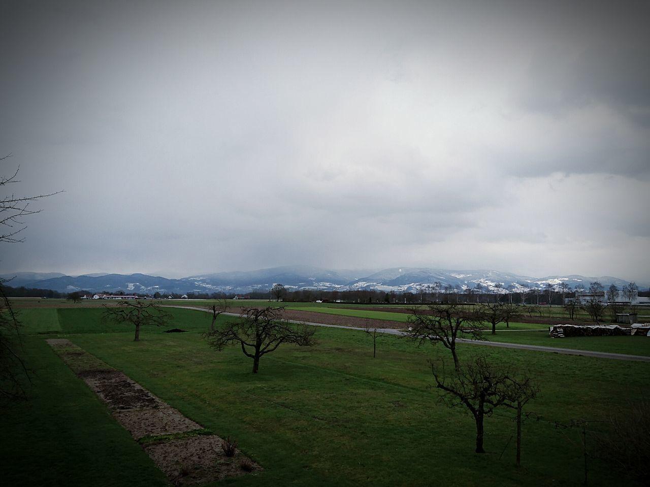 Hornisgrinde Cold Big Clouds
