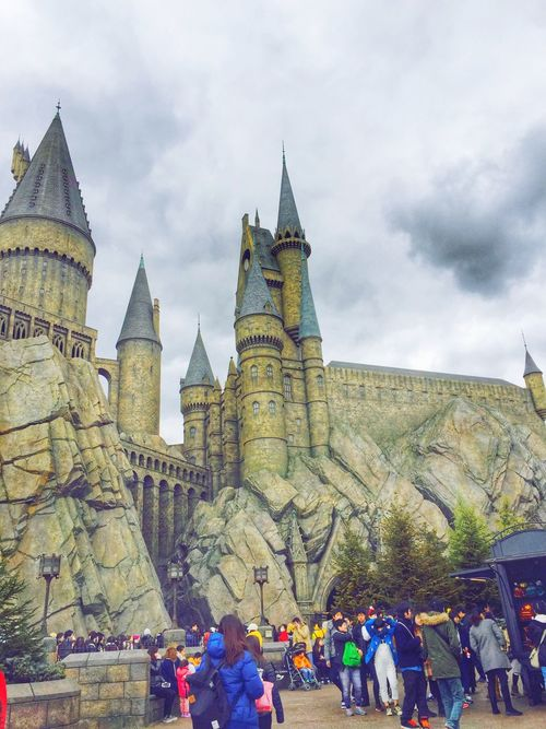 Harrypotter Universal Studios Japan Grand  Expectation Tourist Free Travel Good Day