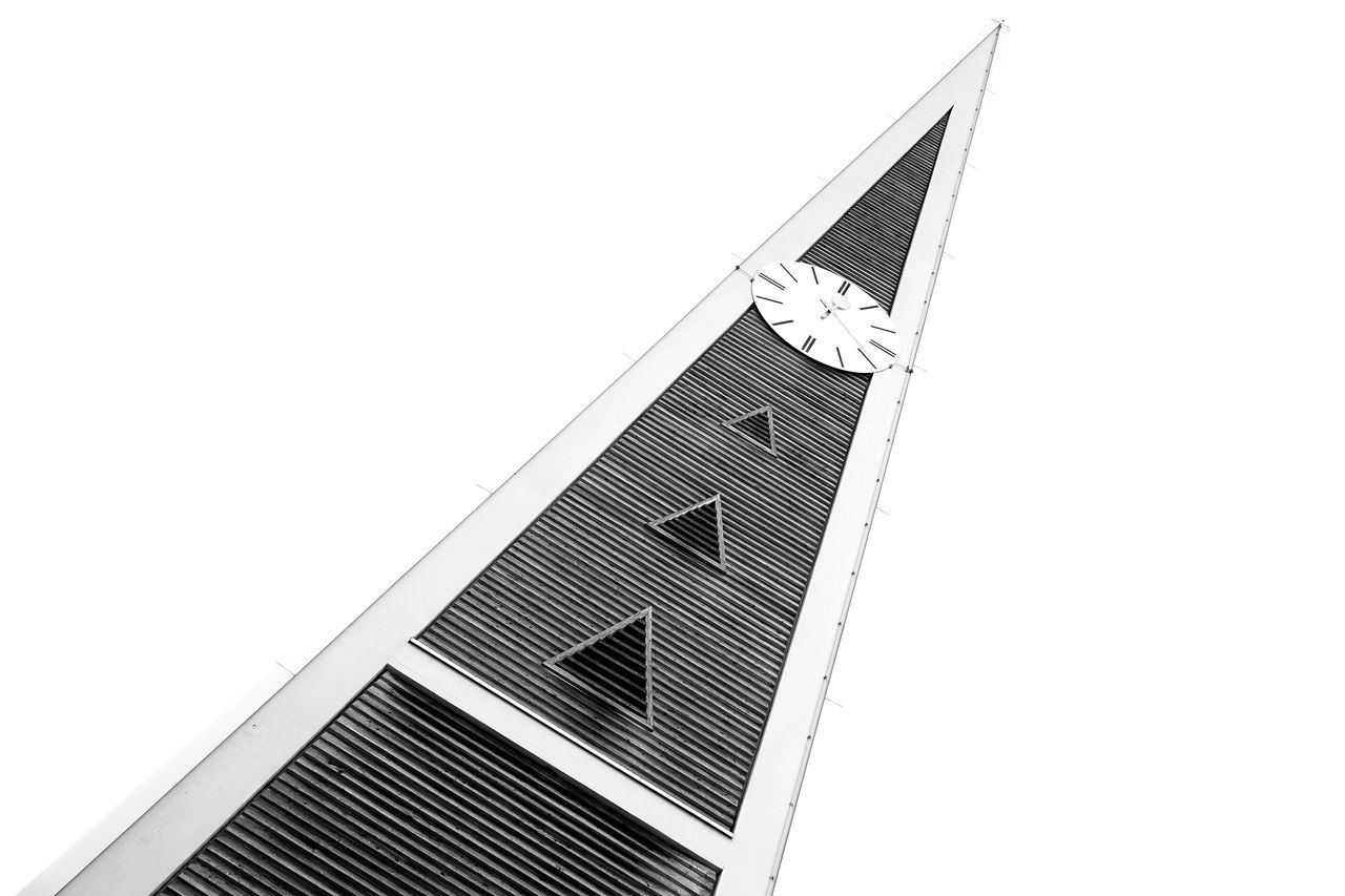 Architecture Blackandwhite Built Structure Church Clock Low Angle View Minimalism Modernism Relaxing Simplicity