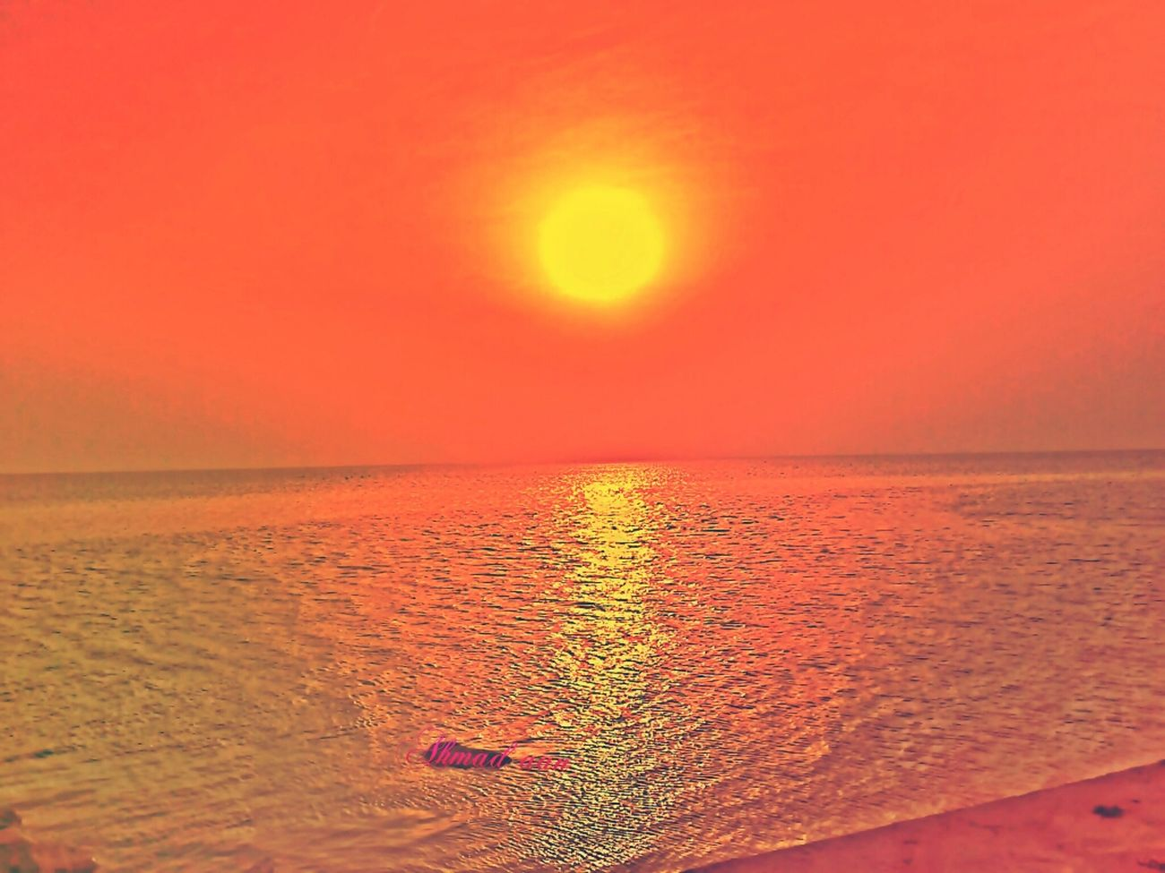 #sunrise#beach#sky#iphoneography#ihonesis
