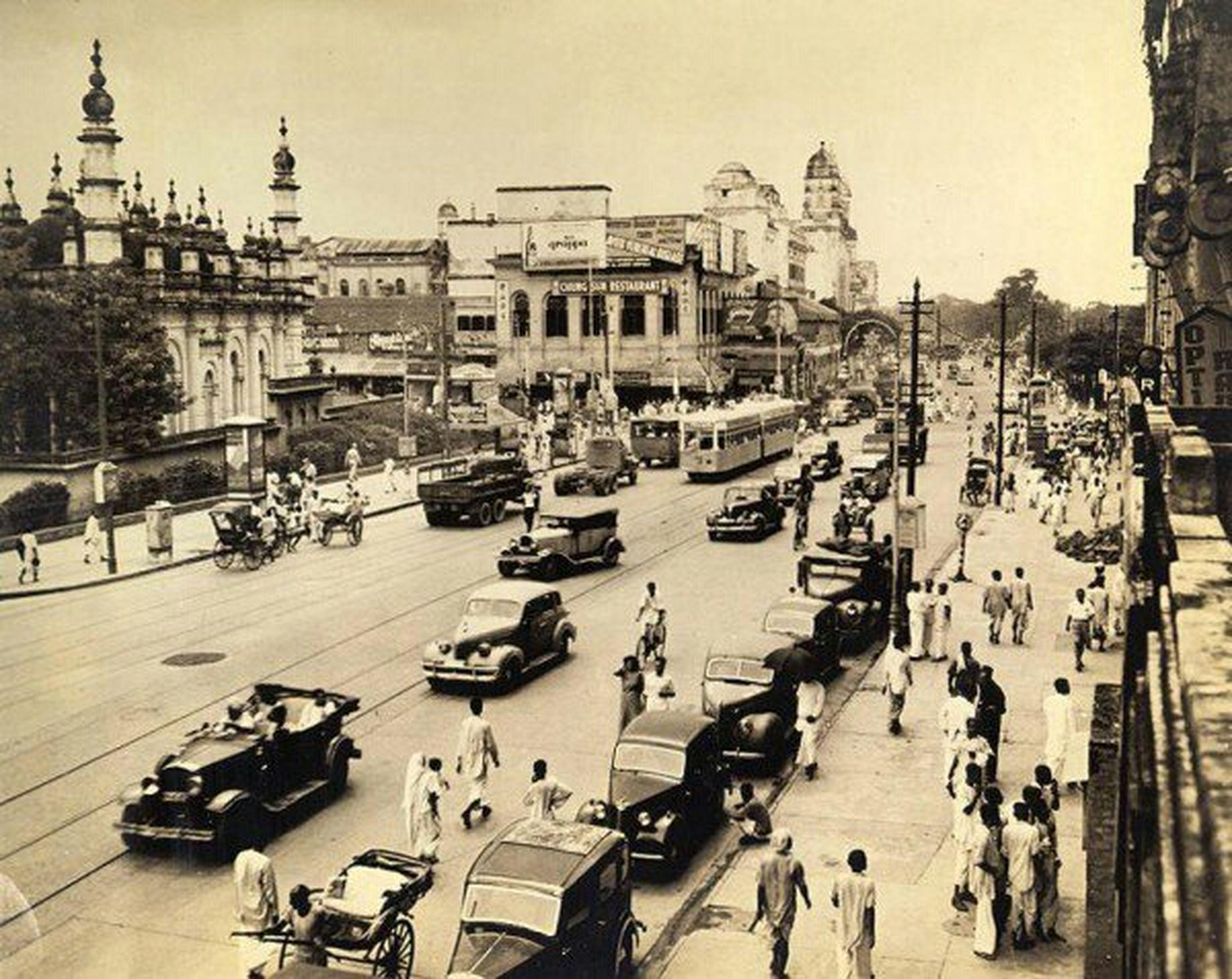 Kolkata India 1930-1970's