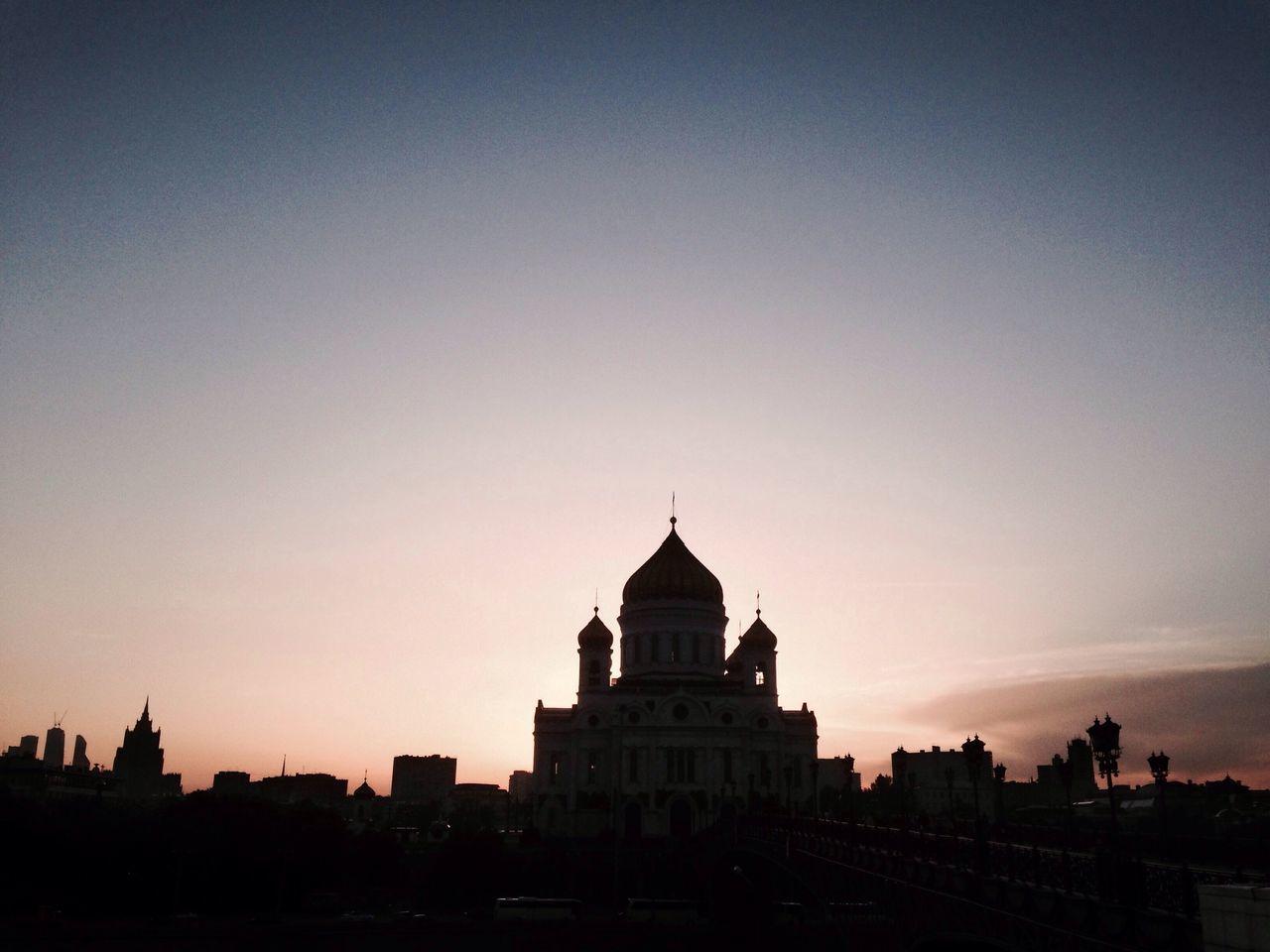 Church Moscow Russia Sky Sunset Q Eyeemphoto