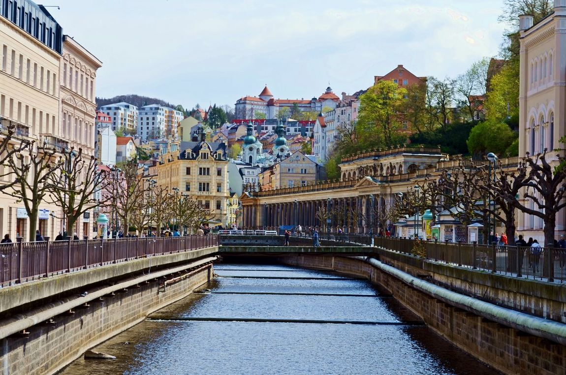 Architecture Built Structure Carlsberg City Colonada Czech Republic Day Karlovy Vary Outdoors Photooftheday Promenade Tourism Travel Destinations Water