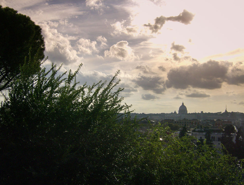 roma Architecture Building Exterior Built Structure City Cityscape Cloud - Sky Day Italia Italie Italien Italy Italy❤️ Italy🇮🇹 Nature No People Outdoors Panorama Pincio Sky Sonnenuntergang Sunset Tramonto Travel Destinations Tree Vaticano